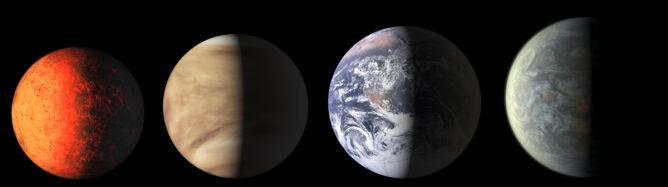 NASA znalazła pierwsze egzoplanety wielkości Ziemi