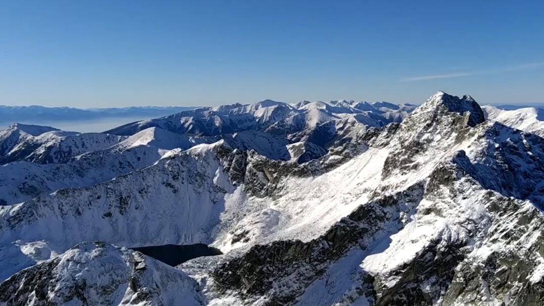 Cisza i spokój na szczycie Koziego Wierchu. Cudowna panorama Tatr