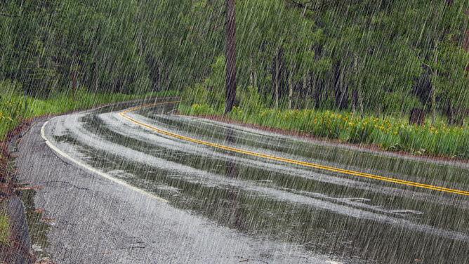 W wielu miejscach będzie padać
